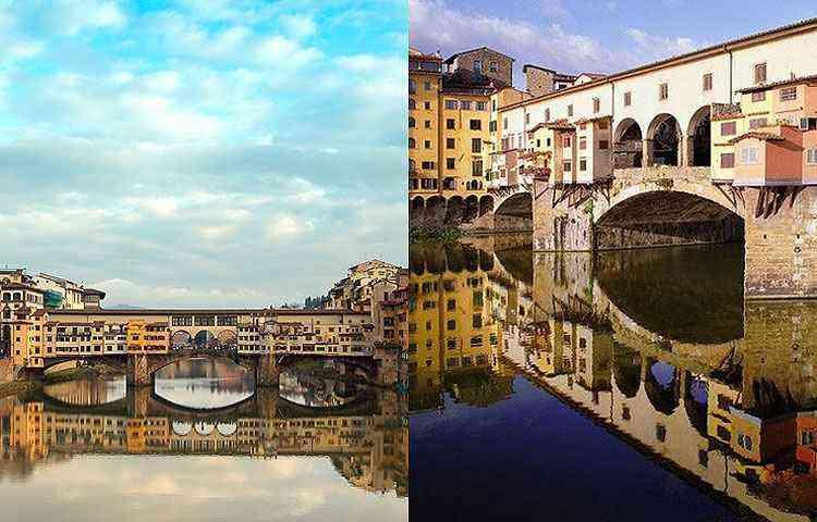Ponte Vecchio, em Floreça, Itália - Reprodução/Internet