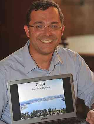 Adriano Lima, diretor-executivo da C Sul, diz que o empreendimento será acessível a todos - Leandro Couri/EM/D.A Press