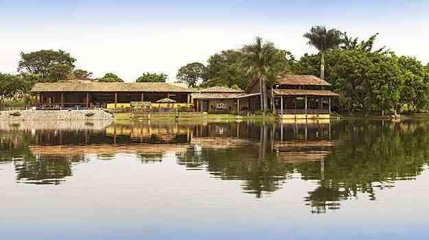 O Fazenda Pacu Residence, do Grupo Morada Imóveis, em Inhaúma é o primeiro condomínio residencial do estado a contar com clube de pesca - Daniel Mansur/Divulgação