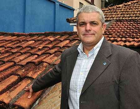 Presidente da Rede Imvista, Eduardo Novais aposta na conscientização dos inquilinos sobre a necessidade de manutenção e conservação de telhados e fachadas - Eduardo Almeida/RA Studio