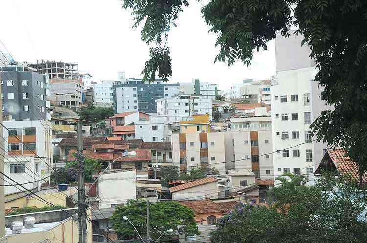 Grande parte dos imóveis é destinado à locação de estudantes - Beto Novaes/EM/D.A Press