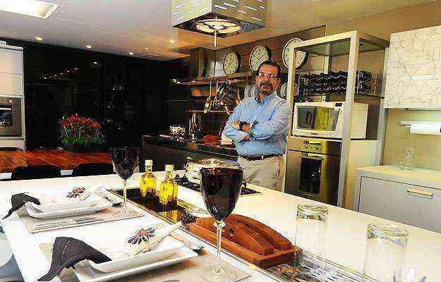 O diretor comercial Gustavo de Almeida conta que a Linea D'Oro antecipou em dois anos investimentos para atender clientes corporativos - Euler Júnior/EM/D.A Press