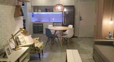 Apartamentos decorados auxiliam nas vendas