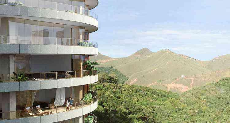 A vista estonteante da varanda do Residencial Sol, da EPO, pode ser sua por pouco mais de R$ 5 milhões - Grupo EPO/Divulgação