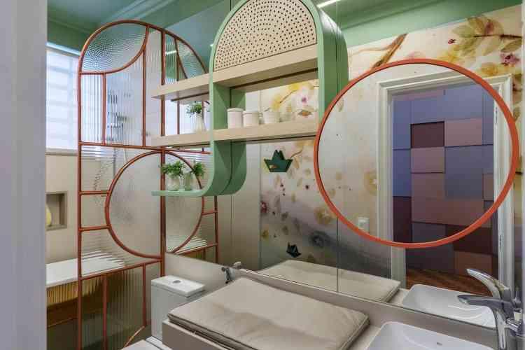 O Banho do Bebê: Tati Caetano, Carol Costa e Fabi Metzker  - Ivan Araújo/Fotografia de Arquitetura/Divulgação
