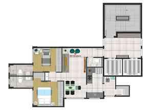 Apartamento, 3 Quartos, 2 Vagas, 2 Suites em Iraí, Vila Paris, Belo Horizonte, MG valor de R$ 860.000,00 no Lugar Certo