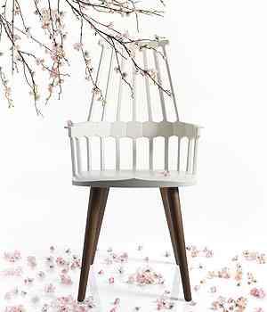 Comback Chair por Patricia Urquiola para Kartell - Link Comunicação/Divulgação