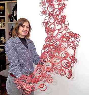 A arquiteta Valéria Alves alia funcionalidade à decoração: