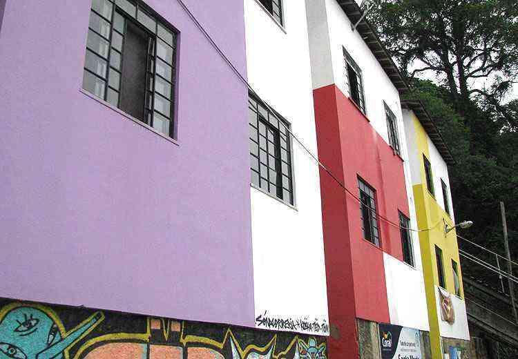 Ações começaram na favela em 2010 - Joana Gontijo/EM/D.A Press
