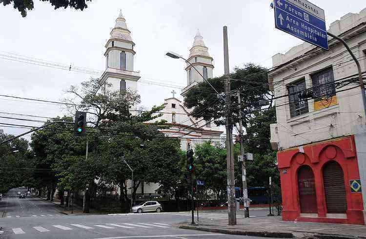 A Igreja de São Sebastião, construída em 1913, é outro ponto de referência - Cristina Horta/EM/D.A Press
