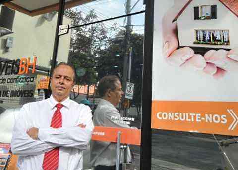 Rui Amorim, diretor da Adimóveis-BH, diz que é indispensável contar com a ajuda do corretor de imóveis em qualquer negociação - Jair Amaral/EM/D.A Press