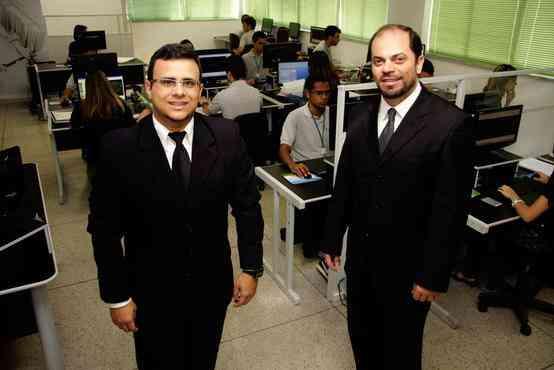 Carlos Augusto Damasceno e Júlio Fonseca, sócios-diretores da Green Gold - Marco Aurélio Lara/Divulgação