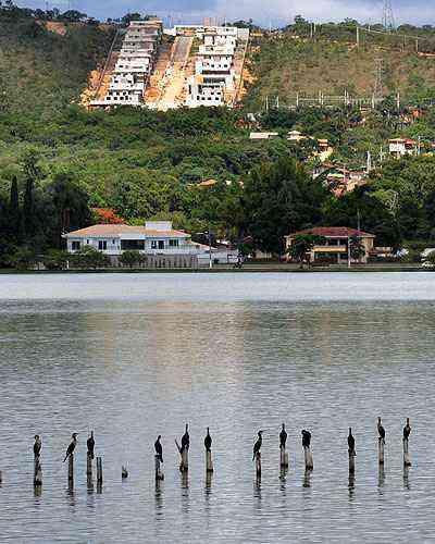Lagoa Santa é uma das cidades da Grande BH que mais têm procura, devido à qualidade de vida, natureza e segurança - Eduardo de Almeida/RA Studio