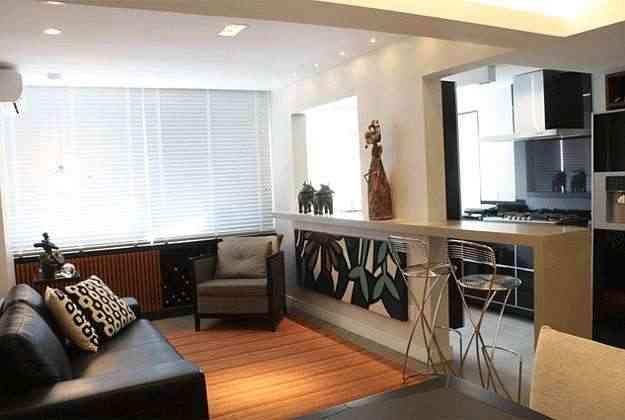 Projeto de apartamento para solteiro do arquiteto Helio Alburquerque - Valério Ayres/Esp. CB/D.A Press