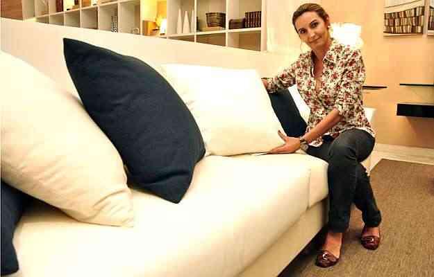 A designer de interiores Paulina Lage diz que uma aposta é buscar modelos confortáveis, com mais algodão na composição - Eduardo Almeida/RA Studio