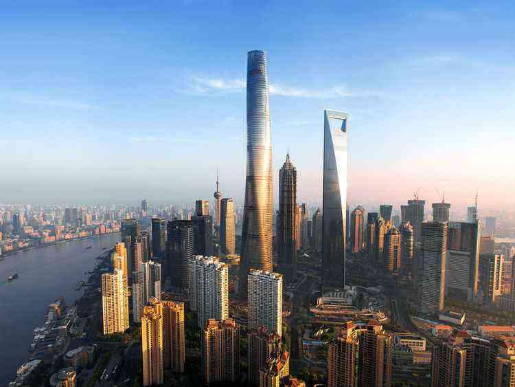 Shanghai Tower, em Xangai, na China - Gensler Design/divulgação