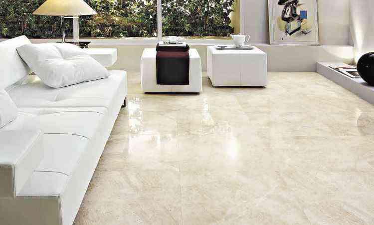 Instalação de pisos de mármore ou granito deve ser feita por profissionais especializados  - Biancogres/Divulgação 29/7/09
