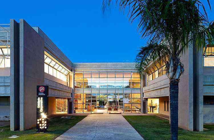 Edifício de um laboratório e centro diagnóstico planejado por Lauro Miquelin abusa de desenho luxuoso e inovador para ser mais atrativo - L M/Divulgação