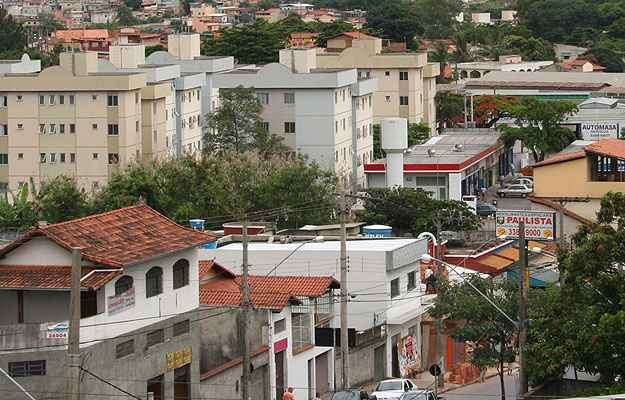 Vista do Bairro Betânia - Gladyston Rodrigues/EM/D.A Press