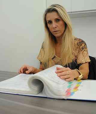 Sócia da Construtora Ágata, Dilma Salles destaca maior segurança para o cliente - Túlio Santos/EM/D.A Press