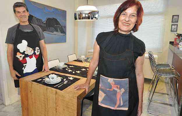 Os irmão Ivan e Laís Penna trabalharam em parceria com designer gráfico Lívia Kot  - Marcos Michelin/EM/D.A Press