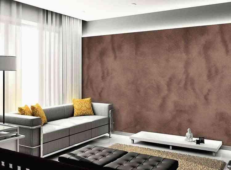 Cores fortes ou de texturas são outros elementos usados na decoração com efeito térmico - Telhanorte/Divulgação