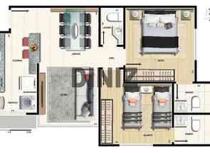 Apartamento, 2 Quartos, 2 Vagas, 1 Suite em Rua Professor Amedee Peret, Cidade Nova, Belo Horizonte, MG valor de R$ 459.176,00 no Lugar Certo