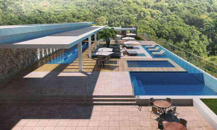 Perspectiva do Edifício Kadosh, projeto que valoriza a sustentabilidade  - RKM Engenharia/Divulgação