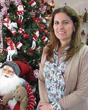 Cláudia Travesso aposta no aumento das vendas por causa dos preços mais baixos que em 2010 - Joana Gontijo/Portal Uai/D.A Press