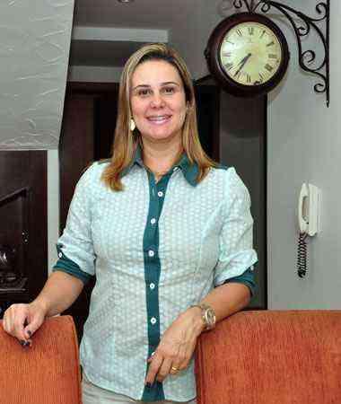 A bancária Adriana Horta fez uma pesquisa sobre a construtora antes de comprar o apartamento - Eduardo de Almeida / RA Studio