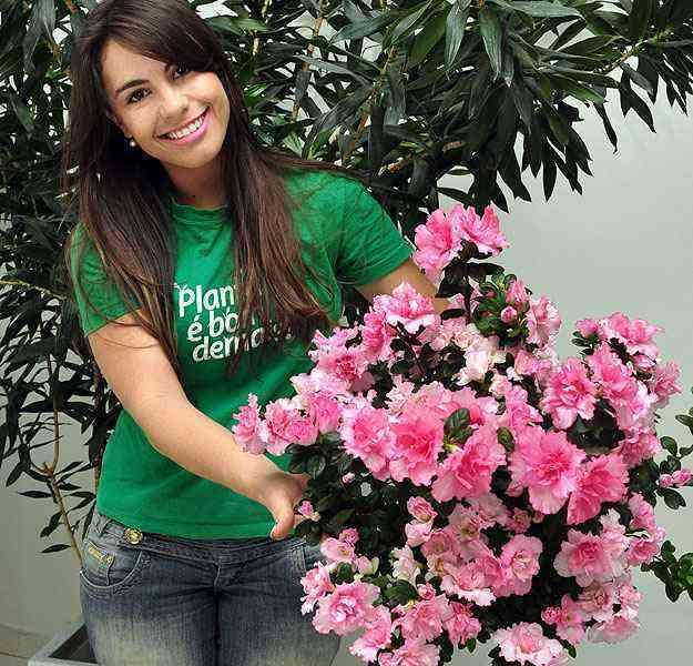 Segundo Josiane Oliveira, da Biofert, cada planta exige um atenção especial que requer orientação profissional - Eduardo Almeida/RA Studio