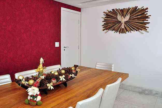 Uso de enfeites de Natal precisa seguir o estilo do imóvel para que não haja desarmonia na decoração - Eduardo de Almeida/RA studio