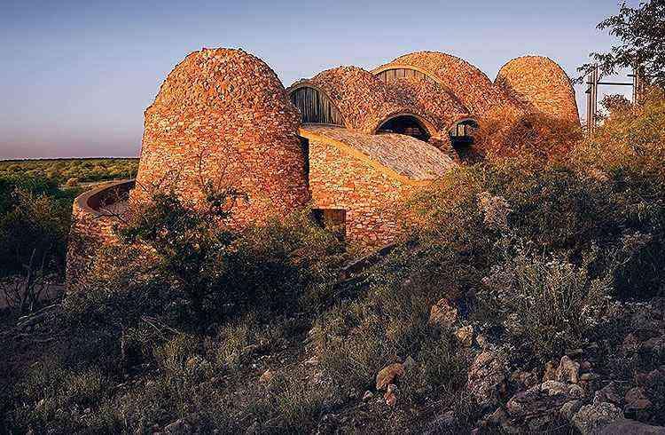Centro de visitas em parque nacional na África do Sul - Obie Oberholzer/Divulgação