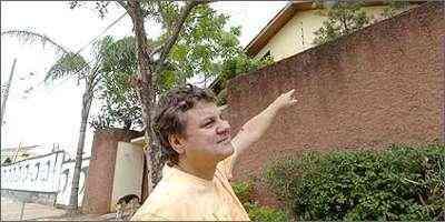 O advogado Luciano Marcos da Silva teve sua casa, no Bairro Castelo, assaltada duas vezes - Cristina Horta/EM/D.A Press