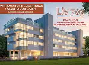 Apartamento, 1 Quarto, 1 Vaga em Shcgn 703 Projeção 13 Bloco 5, Asa Norte, Brasília/Plano Piloto, DF valor de R$ 514.000,00 no Lugar Certo