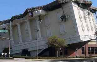 Museu do parque de diversões Wonderworks, em Orlando, estado da Flórida (EUA)