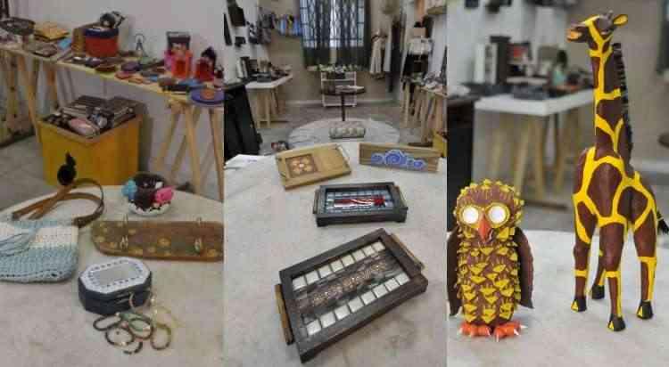 O evento resgata a importância de levar o conhecimento da história do artesanato para todas as gerações - Juarez Rodrigues/EM/D.A Press