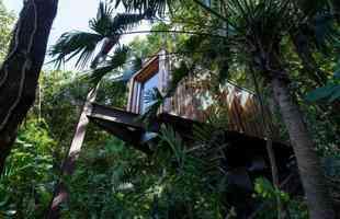 O escritório Bernardes Arquitetura também levou o prêmio na categoria imóveis residenciais, com o projeto da Casa Delta