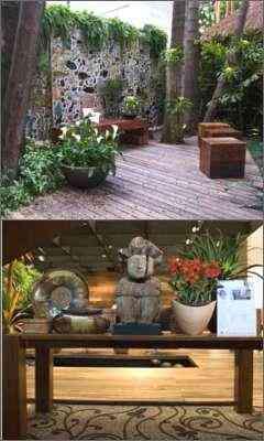 Jardim das Palmeiras e Hall de Entrada: cores, textura e beleza - Inés Antich e Mayra Bernardina/Divulgação