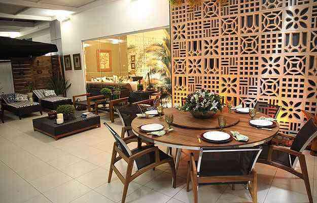 O cobogó pode ser usado como divisória de qualquer cômodo da casa, como sala, home-office, varanda e cozinha  - Reprodução/barracotorto.blogspot