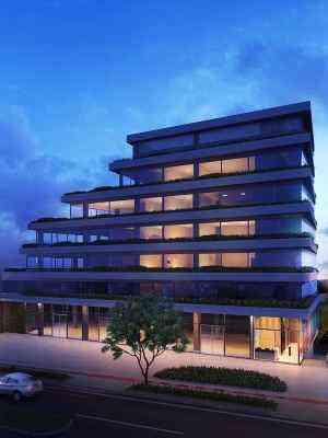 Prédio terá 6 mil metros quadrados de área construída, distribuídos em seis pavimentos com lojas, 46 salas e estacionamento - Grupo EPO/Divulgação