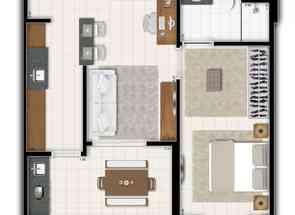 Apartamento, 1 Quarto, 1 Vaga em Quadra Csg 3, Taguatinga Sul, Taguatinga, DF valor de R$ 195.000,00 no Lugar Certo