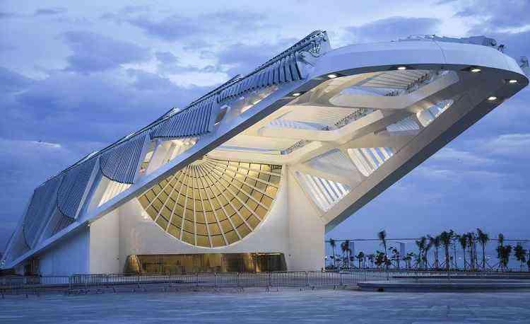 Inaugurado no final de 2015, o museu localiza-se na zona portuária do Rio - Reprodução/Internet/Bernard Lessa