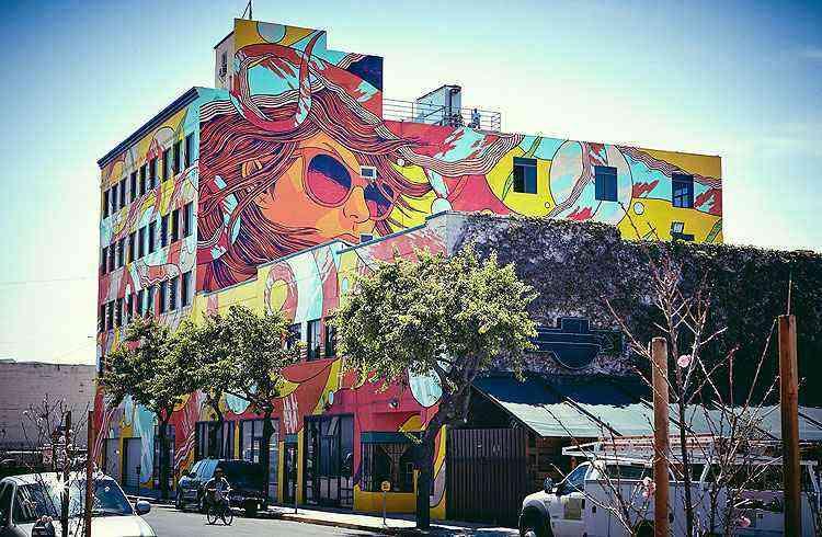 Arte dos goianos em Los Angeles - BSF/Divulgação
