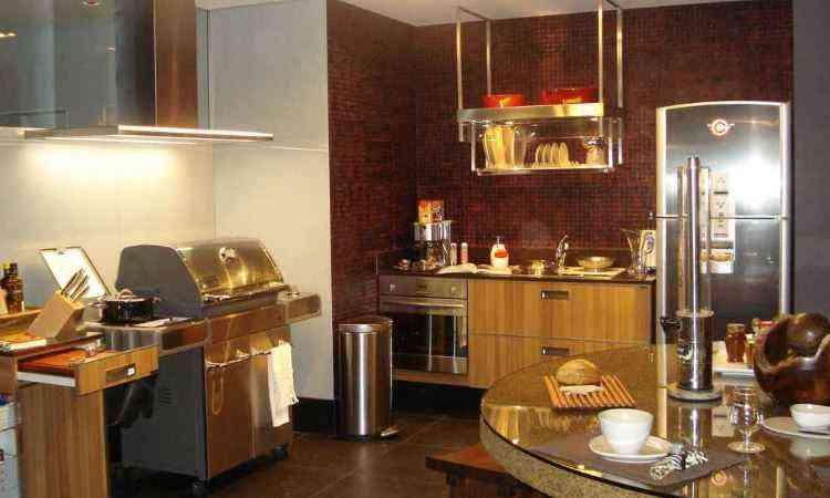 Espaço gourmet com churrasqueira, multifuncional e integrado ganha destaque nos projetos - Dekor/Divulgação