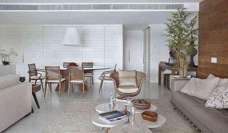 Projeto de arquitetura e decoração criado pela arquiteta Leila Dionízios - Leila Dionízios/Divulgação