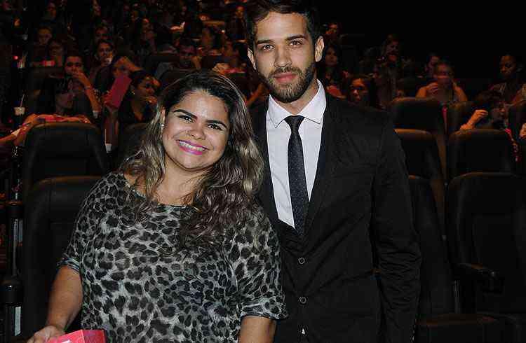 Caroline Lima, da Rede Morar, e Vinicius Torres - Marcos Vieira/EM/D.A Press