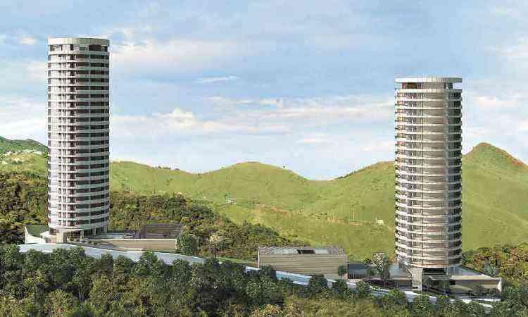 Perspectiva dos residenciais Sol e Terra, da EPO: planejamento de gestão de resíduos  na fase de projeto permite à construtora economizar, reutilizar e reciclar na própria obra - EPO/Divulgação