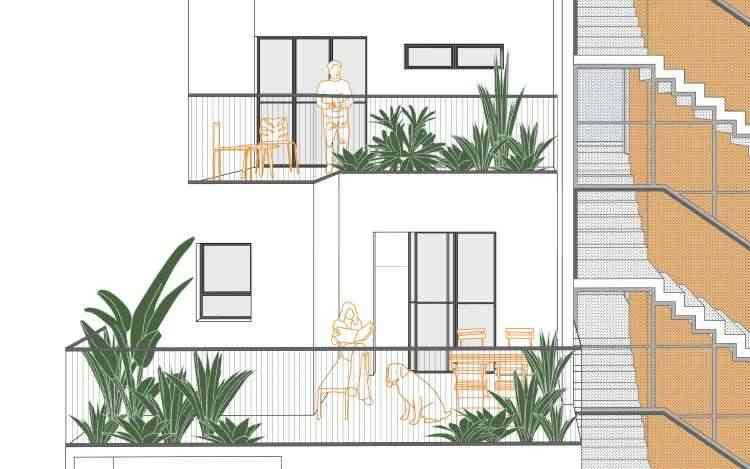 Projeto do escritório de arquitetura Vazio S/A convida ao uso das áreas descobertas - Vazio S/A/Divulgação