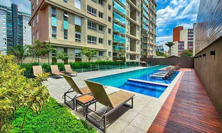 Um dos empreendimentos de destaque no portal foi o Via Gasparini, edifício residencial no Bairro Funcionários, na Região Centro-Sul de Belo Horizonte - 22 graus/Divulgação